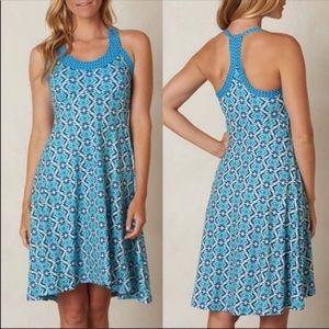 Prana Cali Blue Dress Size XS